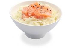 Salade choux saumon